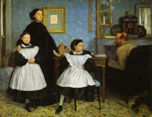 Edgar Degas La famiglia Belelli